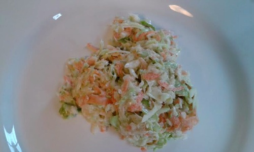 COLESLAW WITH SECRET INGREDIENT-HONEY
