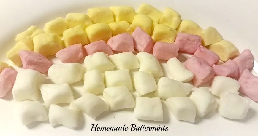 homemade buttermints