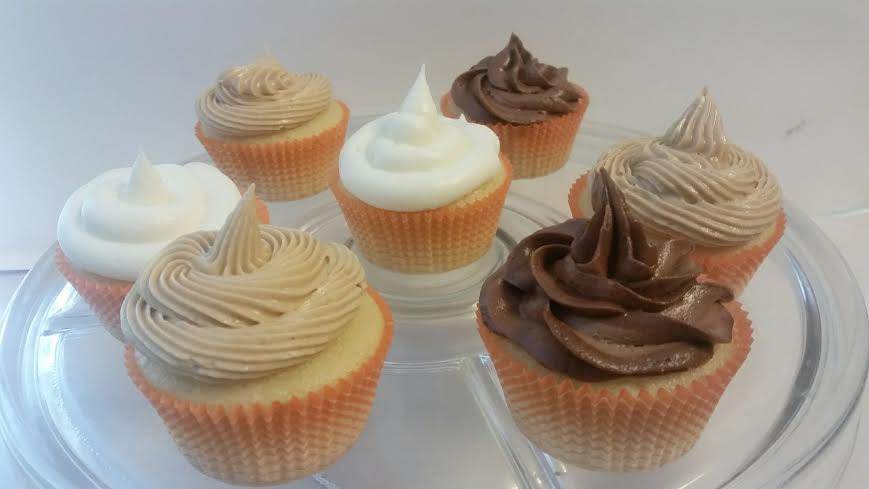 No Fail Vanilla Cupcake Recipe and No Fail Buttercream Frosting