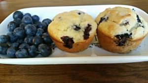 Bakery Fresh Blueberry Muffins